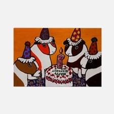 Guinea Pig Birthday Party ~ Rectangle Magnet