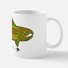 CAFE007RetroSalmon Mug
