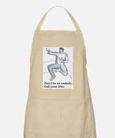 Call your hits bullets Apron