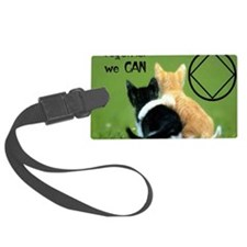 cats together Luggage Tag