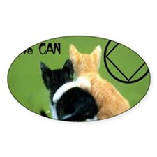 cats together Decal