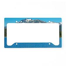 Tahoe Blue License Plate Holder