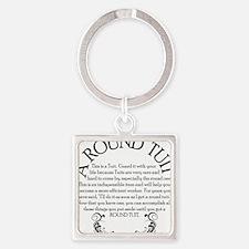 ARoundTuit Square Keychain