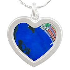 NOLA Musician 1 Silver Heart Necklace