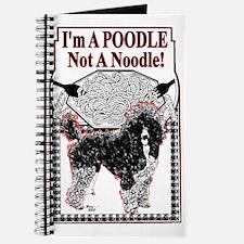 Poodle Not Noodle Journal