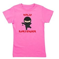 ninja bartender martini Girl's Tee