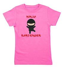 ninja bartender naked Girl's Tee
