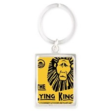 Obama: the Lying King Portrait Keychain