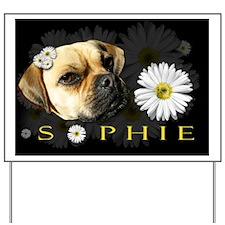 Sophie Black Yard Sign