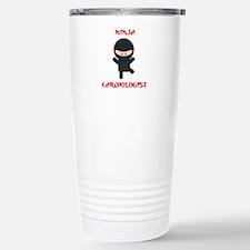 Ninja Cardiologist Travel Mug