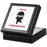 Ninja Cardiologist Keepsake Box