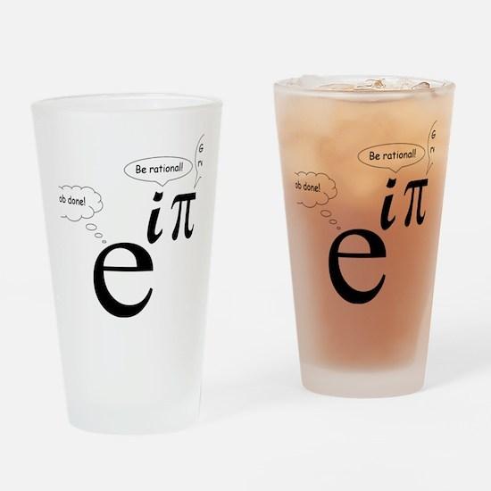 BeRationalGetRealJobDone Drinking Glass