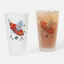 Seacopter_plain Drinking Glass