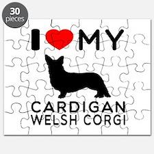 I Love My Cardigan Welsh Corgi Puzzle
