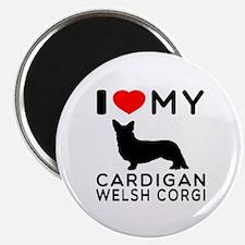 I Love My Cardigan Welsh Corgi Magnet