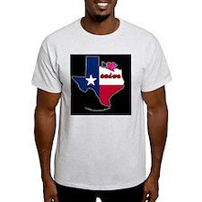 TXstateFlagILYbbt T-Shirt