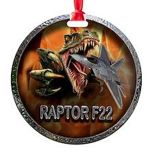 raptor f22 Ornament