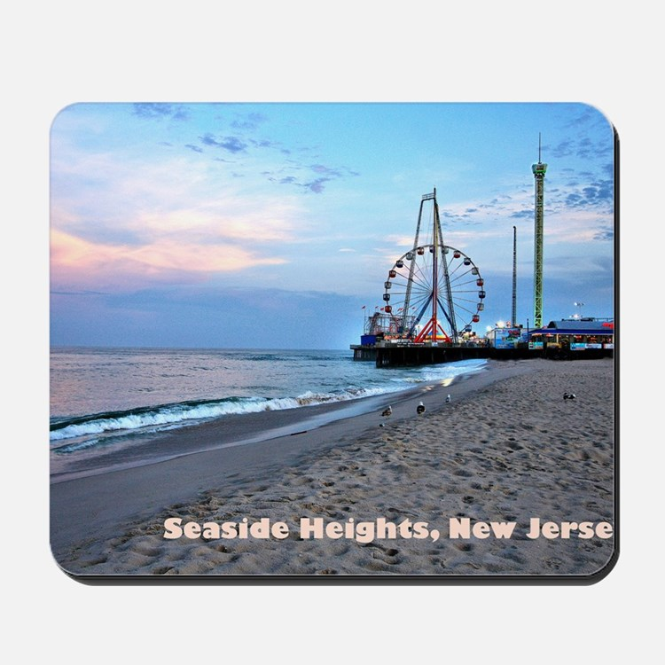 Seaside Heights Ferris Wheel Mousepad