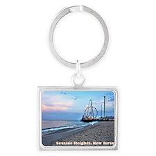 Seaside Heights Ferris Wheel Landscape Keychain