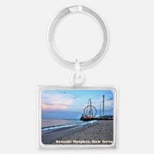 Seaside Heights Ferris Wheel Landscape Keychain