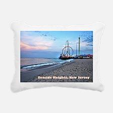Seaside Heights Ferris W Rectangular Canvas Pillow