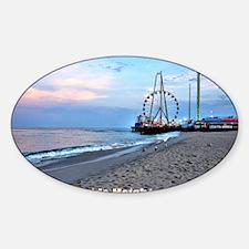 Seaside Heights Ferris Wheel Sticker (Oval)
