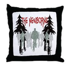 The Newborns Throw Pillow