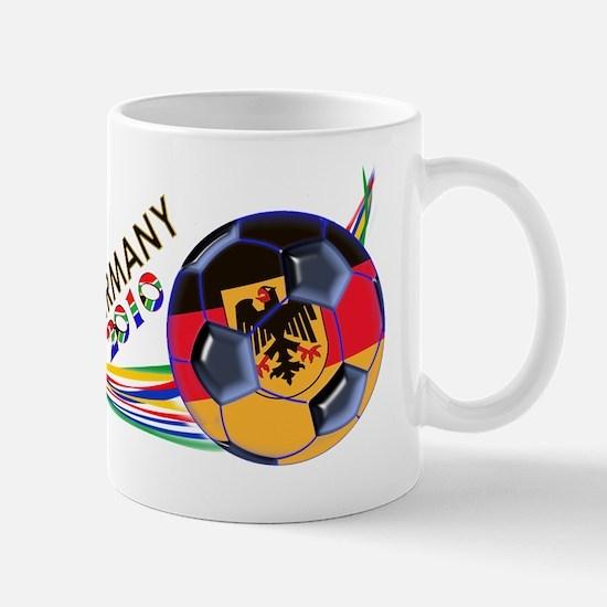 Germany 2010 Soccer T-Shirt Mug