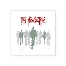"The Newborns2 Square Sticker 3"" x 3"""