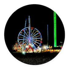 Ferris Wheel Round Car Magnet