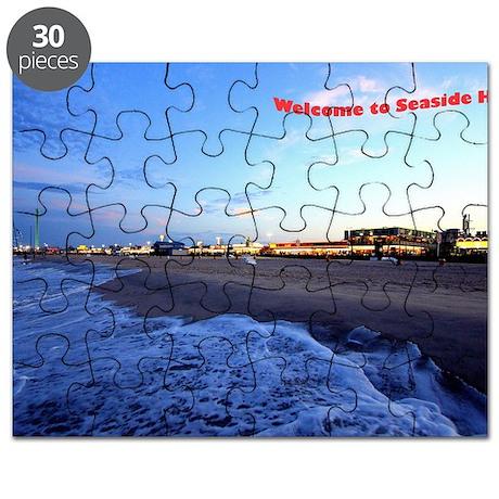 Seaside Heights Boardwalk Puzzle