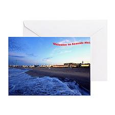 Seaside Heights Boardwalk Greeting Card