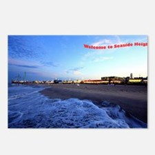 Seaside Heights Boardwalk Postcards (Package of 8)