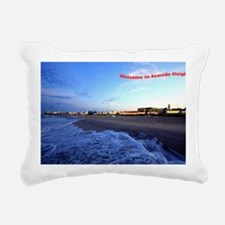 Seaside Heights Boardwal Rectangular Canvas Pillow