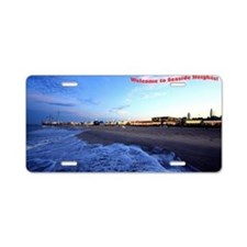 Seaside Heights Boardwalk Aluminum License Plate