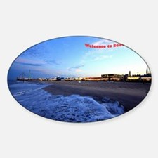 Seaside Heights Boardwalk Sticker (Oval)
