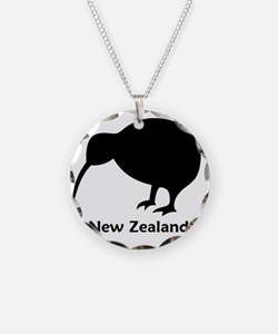 Kiwi - NZ Text Necklace