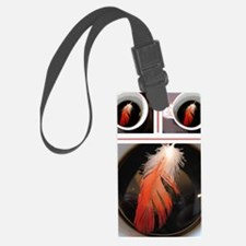 feather cup Luggage Tag