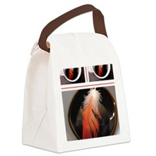 feather cup Canvas Lunch Bag