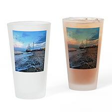 Beachfront Seaside Drinking Glass