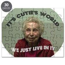 Its Cuties World (bright) Puzzle