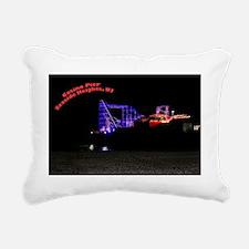 Roller Coaster Rectangular Canvas Pillow