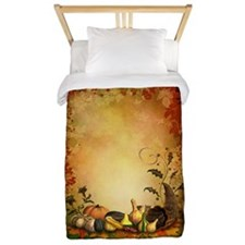 Thanksgiving Twin Duvet Cover