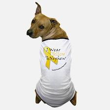 i_wear_yellow_for_my_nephew Dog T-Shirt