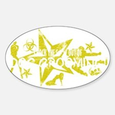 DOG GROOMING WHT Decal