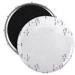 Math Clock (L)(Cart) Magnet