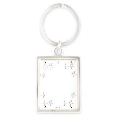 Math Clock (L)(Cart) Portrait Keychain