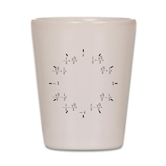 Math Clock (L)(Cart) Shot Glass