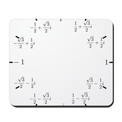 Math Clock (L)(Cart) Mousepad