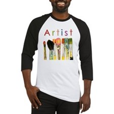 artist-paint-brushes-01 Baseball Jersey